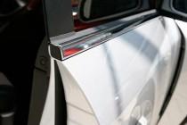 Хромированные молдинги стекол Mitsubishi Outlander 1