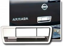 Хром накладка на ручку задней двери Nissan Armada