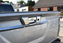 Хром на ручку задней двери Nissan Navara 3 D23 без камеры