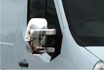 Хром накладки на зеркала Nissan NV400