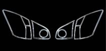 Хром накладки на стопы Nissan Qashqai 1