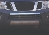 Хром накладка на передний бампер Nissan Pathfinder R51