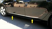 Хромированные молдинги дверей Opel Astra J