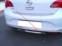 Omsa Line Хромированная кромка бампера Opel Astra J