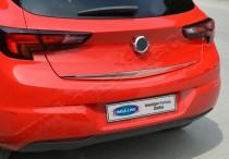 Хромированная кромка багажника Opel Astra K