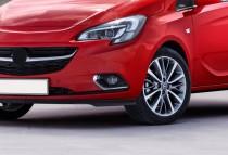 Хром накладки на противотуманные фары Opel Corsa E