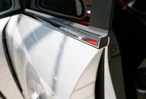 Хромированные молдинги стекол Opel Vectra B