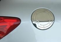 Хром накладка на лючок бензобака Пежо 206