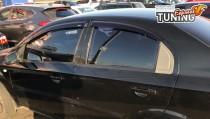 Купить ветровики на окна Chevrolet Aveo 3 оригинал