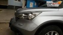 Реснички фар для Honda Cr-V 3 2006-2012 фото