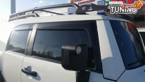 Ветровики дверные Toyota FJ Cruiser комплект 4шт