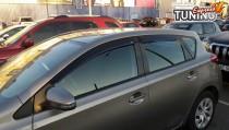 Ветровики на двери Toyota Auris 2 E180 комплект