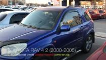 Ветровики боковых окон Toyota Rav 4 2 поколения 3-дверный