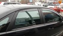 Вставные ветровики на Форд Фокус 2 седан