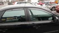 Оригинальные дефлекторы окон Форд Фокус 2 седан