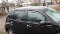 Вставные ветровики дверей Chrysler PT Cruiser комплект 4шт