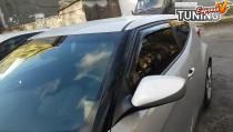 Вставные ветровики окон Hyundai Veloster