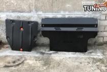 Защита двигателя Audi Q5 8R радиатора и КПП