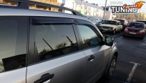 Дефлекторы окон Subaru Forester 3 бренда SIM