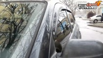 Дефлекторы на окна Хендай Туксон 1 фото