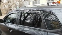 Ветровики на боковые окна Hyundai Tucson 1 JM