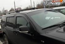 Ветровики на Nissan Pathfinder R51 полный комплект