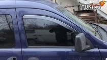 Вставные ветровики Opel Combo C полный комплект 2шт