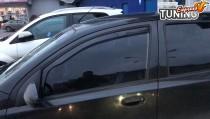 Вставные ветровики на Chevrolet Aveo T200 хетчбек