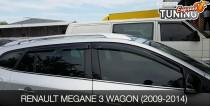Ветровики Рено Меган 3 универсал полный комплект 4шт