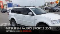HIC Ветровики на Mitsubishi Pajero Sport 2 полный комплект