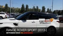 Ветровики на Рендж Ровер Спорт 2 полный комплект