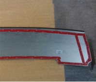 защитная накладка бампера Chevrolet Niva