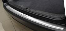 Накладка на задний бампер Хонда СРВ 4 (защитная накладка бампера Honda CR-V 4)