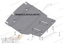 Защита картера двигателя Субару Аутбек 2 под радиатор