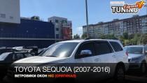 HIC Ветровики Тойота Секвойя 2 полный комплект 4шт