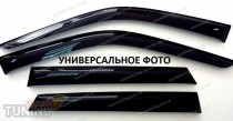 Ветровики боковых окон Nissan Almera N15 хэтчбек