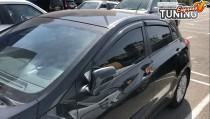 Ветровики окон Hyundai i30 GD полный комплект 4шт