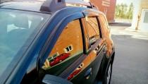 Ветровики боковых окон Рено Дастер 2