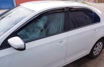 Ветровики на окна Seat Toledo 4 седан оригинал CT