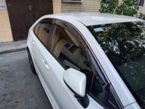 Дефлекторы на окна Toyota Corolla 12 E210 комплект 4шт