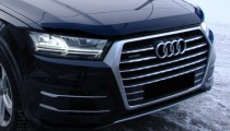Дефлектор капота Audi Q7 2 4M черный