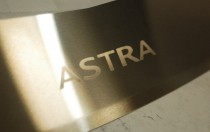 Накладка на задний бампер Опель Астра J (защитная накладка бампера Opel Astra J Sports Tourer)