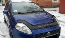 Мухобойка Fiat Punto 3 черный глянец