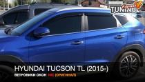 Ветровики на окна Hyundai Tucson 3 TL оригинал