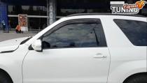 Дефлекторы на Suzuki Grand Vitara 3D с 2005 года 2шт комплект