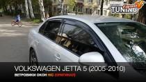 HIC Ветровики на двери Volkswagen Jetta 5