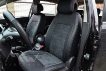 Чехлы в Chevrolet Captiva серии Leather Style