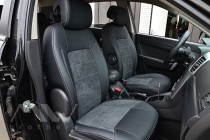 Чехлы для Chevrolet Captiva серии Leather Style