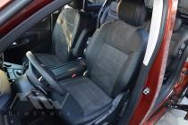Чехлы для Ситроен Берлинго 3 Пассажир серии Leather Style