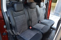 Чехлы на Ситроен Берлинго 3 Пассажир серии Leather Style